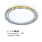 Đèn Áp Trần LED E2-207 Ø500
