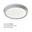 Đèn Áp Trần LED E2-212 Ø500
