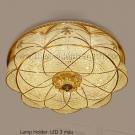 Đèn Ốp Trần Bánh Tiêu LED LK@E2-75 Ø500