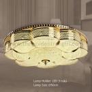 Đèn Ốp Trần Bánh Tiêu LED LK@E2-86 Ø500