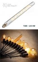 Bóng Edison Led T30X 4W
