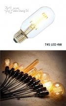 Bóng Edison Led T45W 4W
