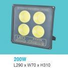 Đèn Pha LED 200W UFA13