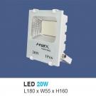 Đèn Pha LED 20W UFAT20