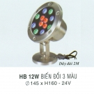 Đèn Pha Led 3 Màu Dưới Nước HB 12W