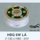 Đèn Pha Led Dưới Nước HBG 6W Lá
