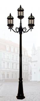 Đèn Trụ Sân Vườn HSTDM1405-2+1 Ø800xH2800