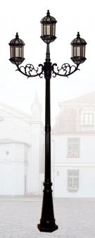 Đèn Trụ Sân Vườn HSTDM1406-2+1 Ø950xH2800