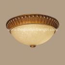 Đèn Ốp Trần Led Giả Cổ KDOM7-32A Ø400