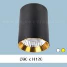 Đèn Lon LED 10W Gắn Nổi ULN20 Ø90