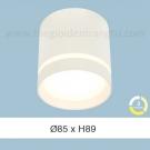 Đèn Lon LED 7W Gắn Nổi ULN21 Ø85