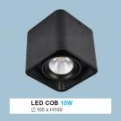 Đèn Lon LED 10W Gắn Nổi ULN28 105x105