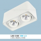 Đèn Lon LED 20W Gắn Nổi ULN29 105x200