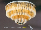 Đèn Mâm Led Có Nhạc MP3 EU-ML8169 Ø600