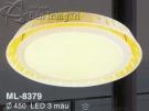 Đèn Ốp Trần Led Hàn Quốc ML8379 Ø450