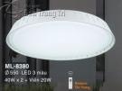 Đèn Ốp Trần Led Hàn Quốc ML8380 Ø550