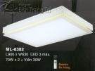 Đèn Ốp Trần Led Hàn Quốc ML8382 900x630