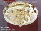 Đèn Áp Trần LED Đổi Màu ML8389 Ø600