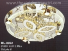 Đèn Áp Trần LED Đổi Màu ML8392 Ø800