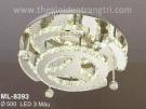 Đèn Áp Trần LED Đổi Màu ML8393 Ø500