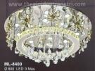 Đèn Áp Trần LED Đổi Màu ML8400 Ø800