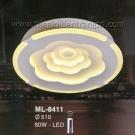 Đèn Ốp Trần Led Hàn Quốc ML8411 Ø510