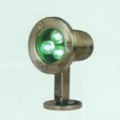 Đèn Pha Led Dưới Nước NLNA13 3W xanh lá