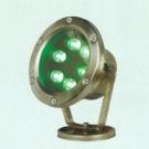 Đèn Pha Led Dưới Nước NLNA15 6W xanh lá