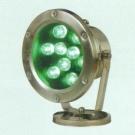 Đèn Pha Led Dưới Nước NLNA17 9W xanh lá