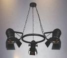 Đèn Chùm Nghệ Thuật NLNB024-3 Ø850