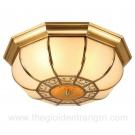 Đèn Áp Trần Đồng LH-OD686 Ø400