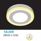 Đèn Áp Trần LED UOTX114 Ø240