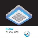Đèn Áp Trần LED UOTX333 145x145