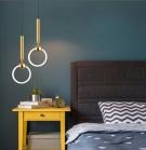 Đèn Thả LED Trang Trí Phòng Ngủ AU-TLLJ8089 Ø300