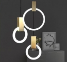Đèn Thả LED Trang Trí Phòng Ngủ AU-TLLJ8090 Ø300