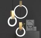 Đèn Thả LED Trang Trí Phòng Ngủ AU-TLLJ8090 Ø400