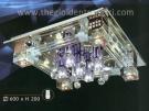 Đèn Mâm Led Vuông NLNC88814 600x600