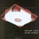 Đèn Ốp Trần LED Hàn Quốc Đổi Màu ERA245 Ø480