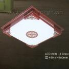 Đèn Ốp Trần LED Hàn Quốc Đổi Màu ERA246 Ø450