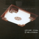 Đèn Ốp Trần LED Hàn Quốc Đổi Màu ERA247 Ø480