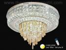 Đèn Ốp Trần Pha Lê LED SN1096 Ø600