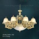 Đèn Chùm Châu Âu NLNC8205-8 Ø900