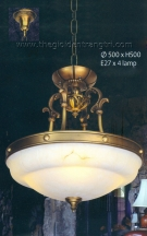 Đèn Thả Đồng NLNB80048 Ø500