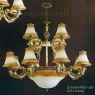 Đèn Chùm Châu Âu NLNC5089-12 Ø1100