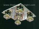 Đèn Mâm Led Vuông NLNC087 400x400