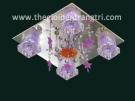 Đèn Mâm Led Vuông NLNC8358 400x400