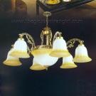 Đèn Chùm Cổ Điển NLNC075-6 Ø800