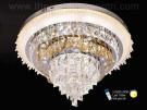 Đèn Ốp Trần Pha Lê LED SN2102 Ø600