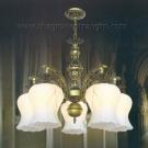 Đèn Chùm Cổ Điển NLNC8068-5 Ø550