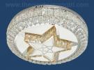 Đèn Ốp Trần Pha Lê LED SN1109 Ø500